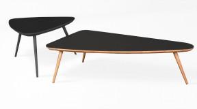TALO B oryginalny stolik kawowy z litego drewna
