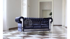 CHESTERFIELD GLAMOUR VELVET Sofa 3 os.