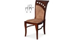 C55 zdobione krzesło drewniane w stylu włoskim