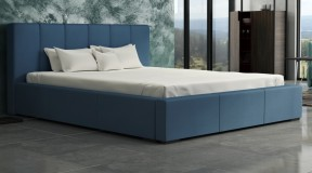MERLIN tapicerowane łóżko w wielu wariantach obicia 140x200