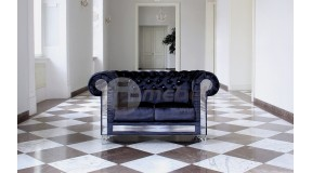 CHESTERFIELD GLAMOUR VELVET Sofa 2 os.