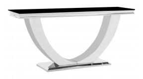 Konsola GLAMOUR CHX893 stal nioerdzewna, hartowane szkło, marmur